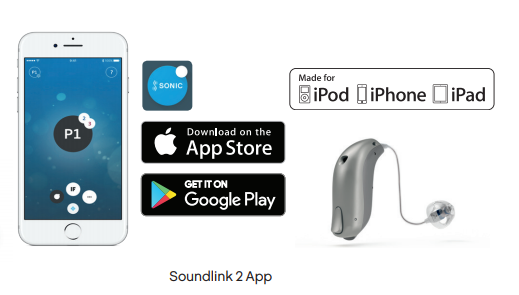 Spremenite program na slušnem aparatu z aplikacijo