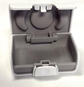 etui za shranjevanje VODA X mehkih čepkov