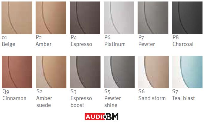 Unitron barve slušnih aparatov