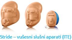 Vušesni, sluhovodni, nevidni slušni aparati
