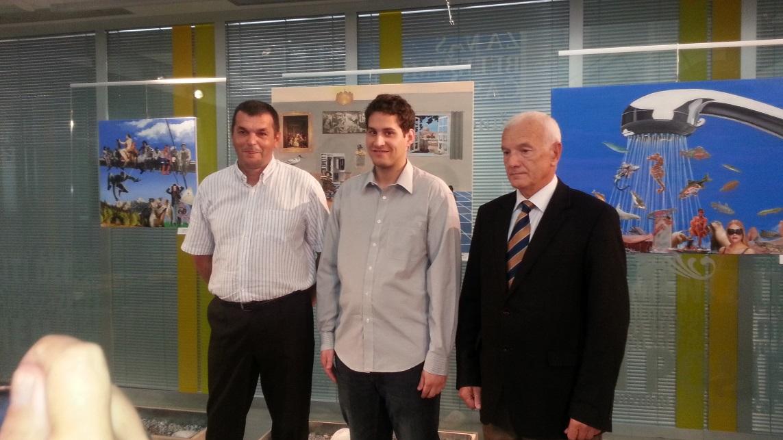 Boris, Marko in Mladen Veršič, Predsednik ZDGNS
