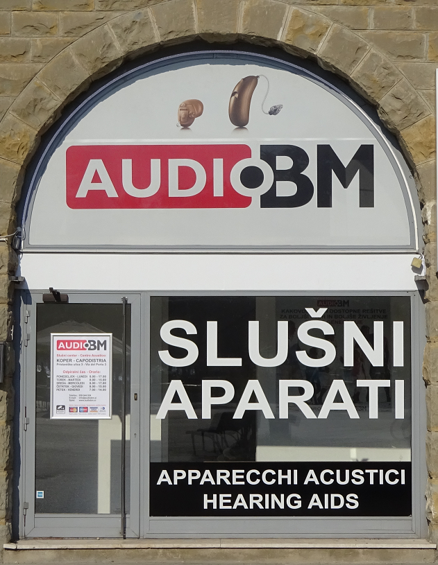 SLUŠNI CENTER AUDIO BM V KOPRU
