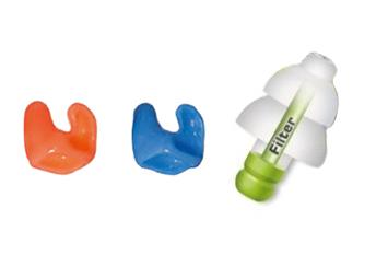 Zaščita ušes pred vodo in hrupom