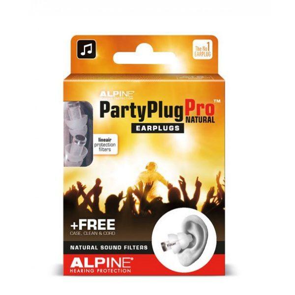 PartyPlug PRO Natural ušesni čepi