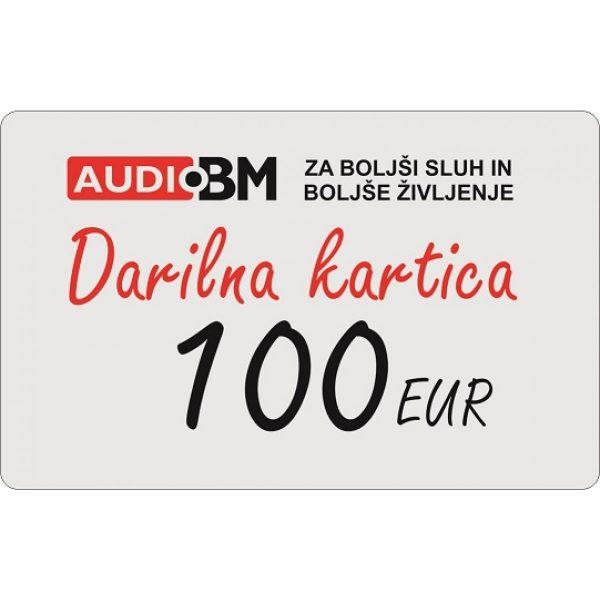 AUDIO BM darilna kartica 100€