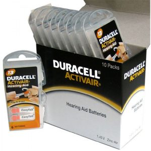 Duracell paket baterij za slušne aparate