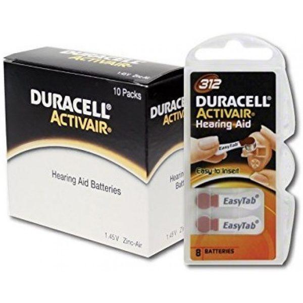 baterije za slušne aparate Duracell