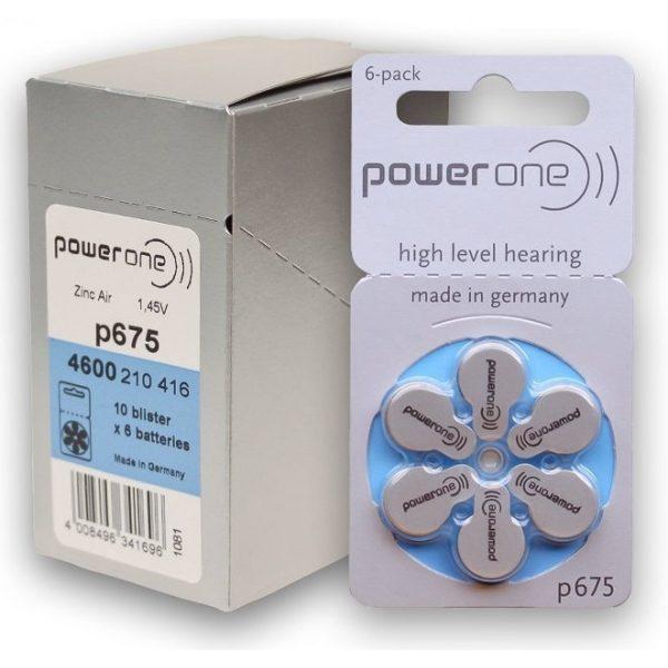 Power One baterije za slušni aparat