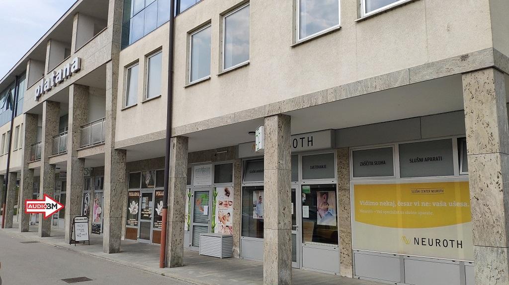 AUDIO-BM-center-Ptuj-PLATANA-naslov-lokacija-Potrceva-cesta-15-aparati-baterije-servis-zascita-svetovanje-ob-Neuroth