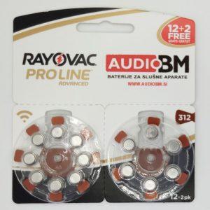 312-baterije-za-slusne-aparate-Rayovac-Proline-14-kos-audio-bm-slusni-aparati