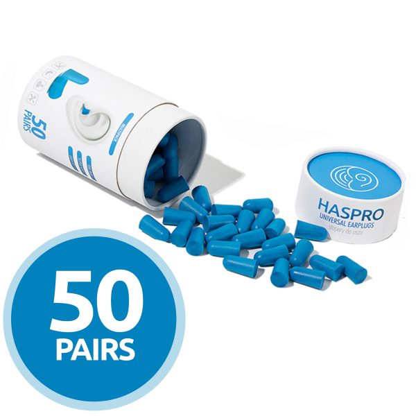 Cepki-za-usesa-iz-pene-Zascita-sluha-HASPRO-blue-AUDIO-BM-slusni-aparati-50-parov