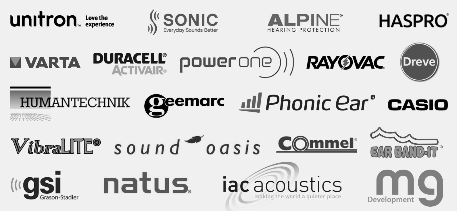Blagovne-znamke-Unitron-Sonic-Varta-Duracell-Rayovac-Alpine-in-druge-AUDIO-BM-slusni-aparati-centri
